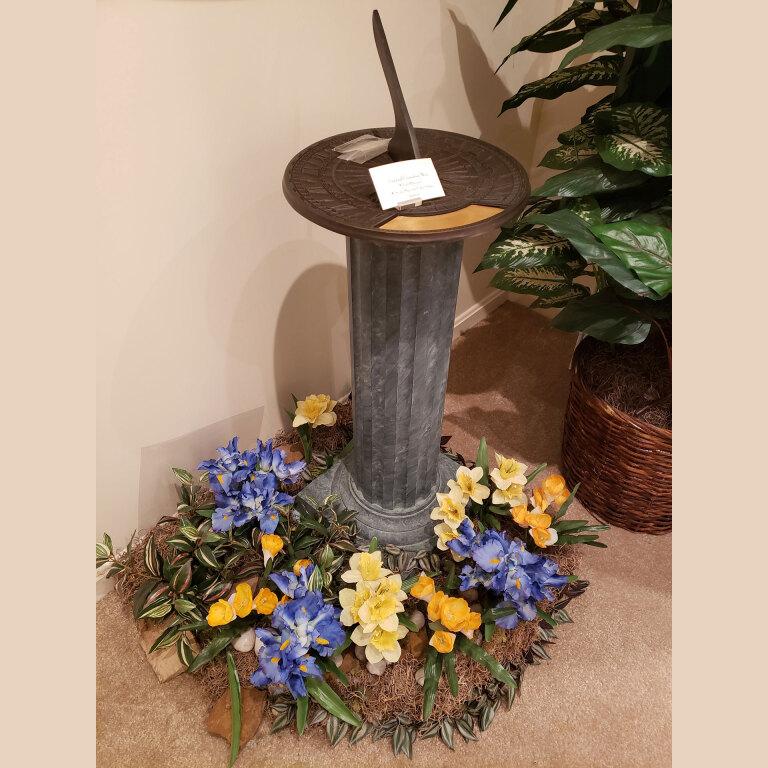 Birdbath urn $1495
