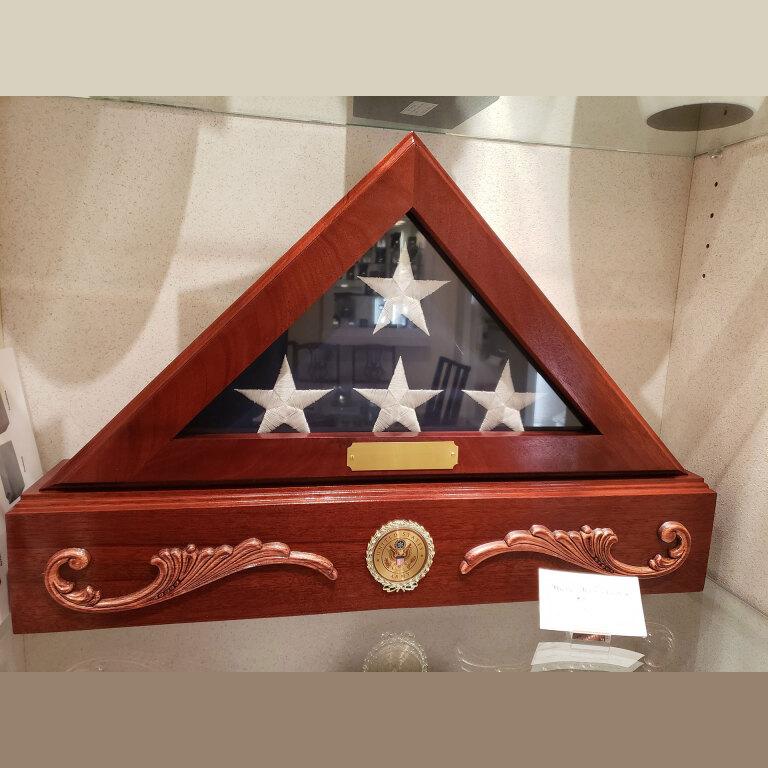 Cherry Flag Urn $730