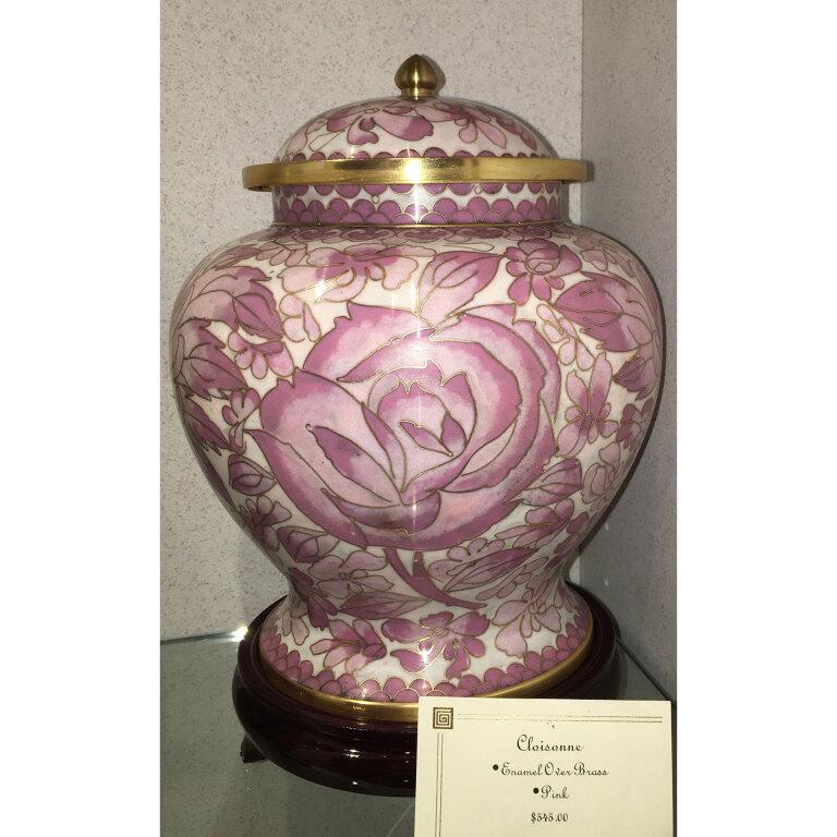 Cloisonne Pink $545