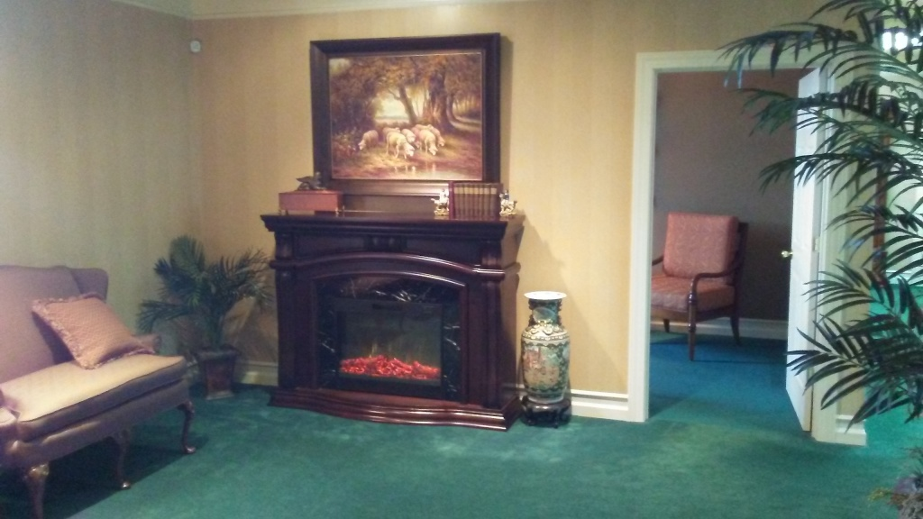 Main Lobby Fireplace