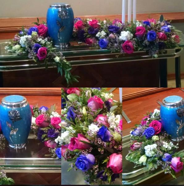 Floral Urn Boa