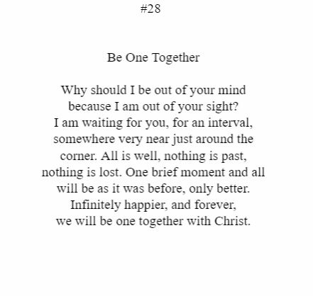 Be One Together