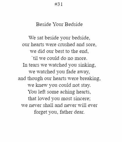 Beside Your Bedside