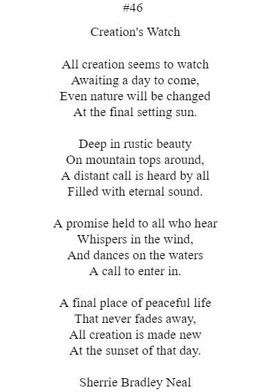 Creation's Watch