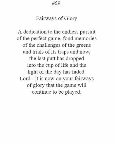 Fairways Of Glory