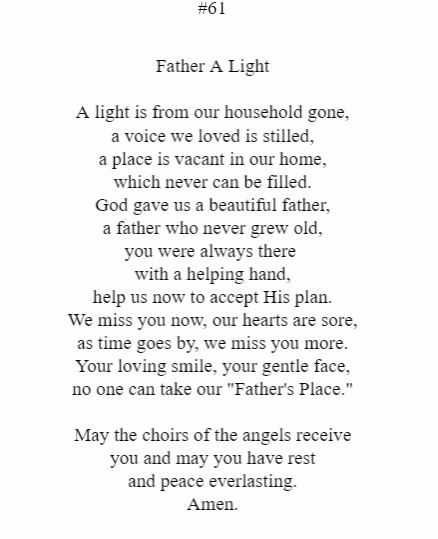 Father A Light