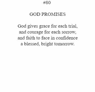 God Promises