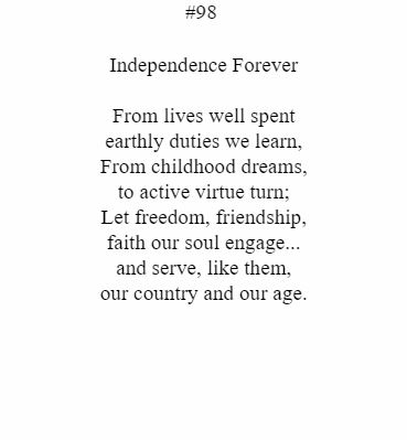 Independence Forever