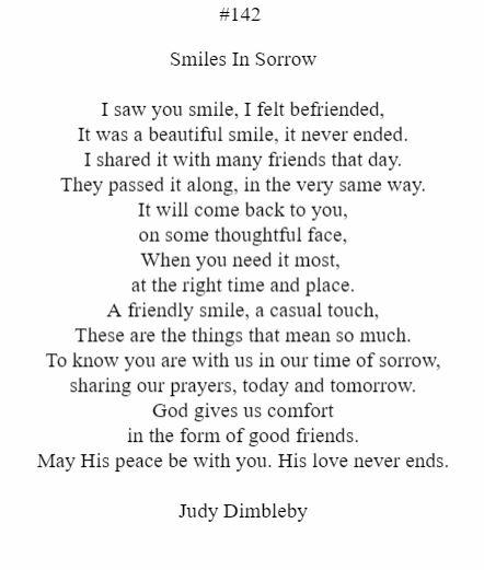Smiles In Sorrow