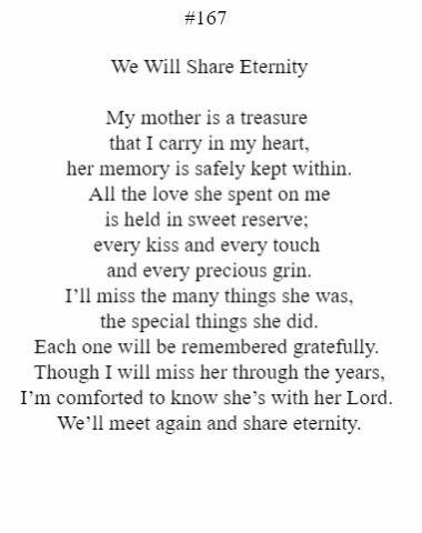 We Will Share Eternity