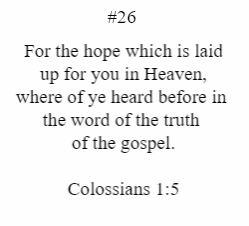 Colossians 1:5