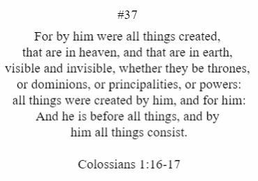 Colossians 1:16-17