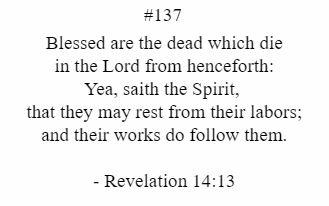 Revalation 14:13