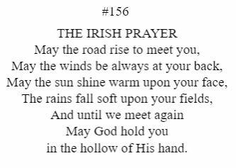 The Irish Prayer