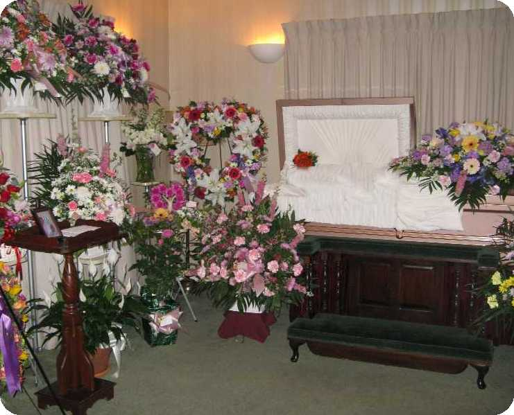 Casket Viewing Room