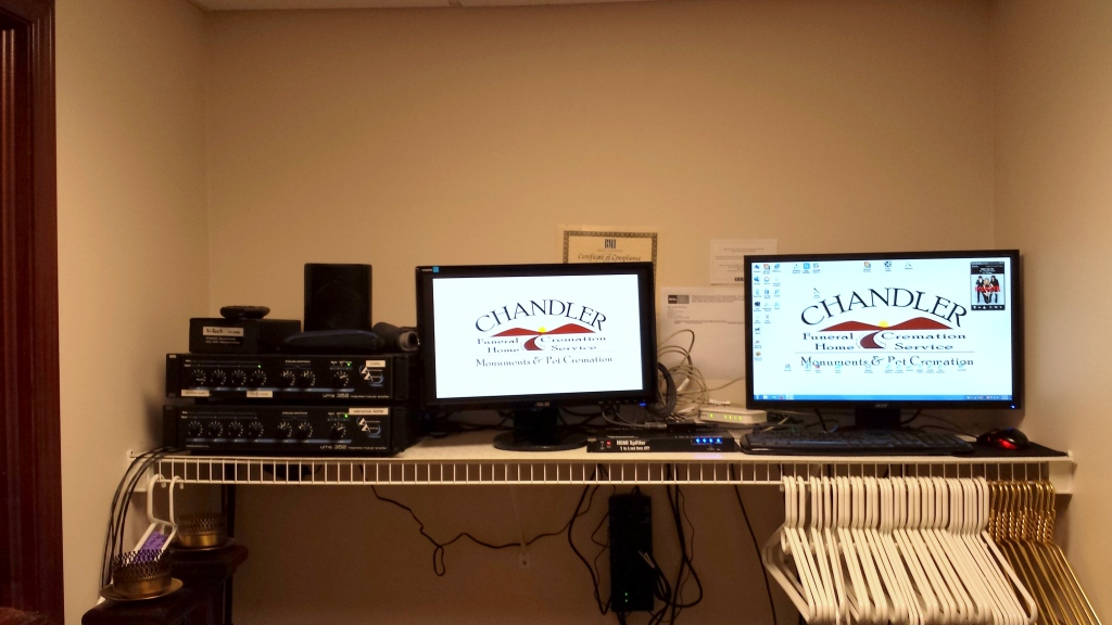 State of the Art audio and video system