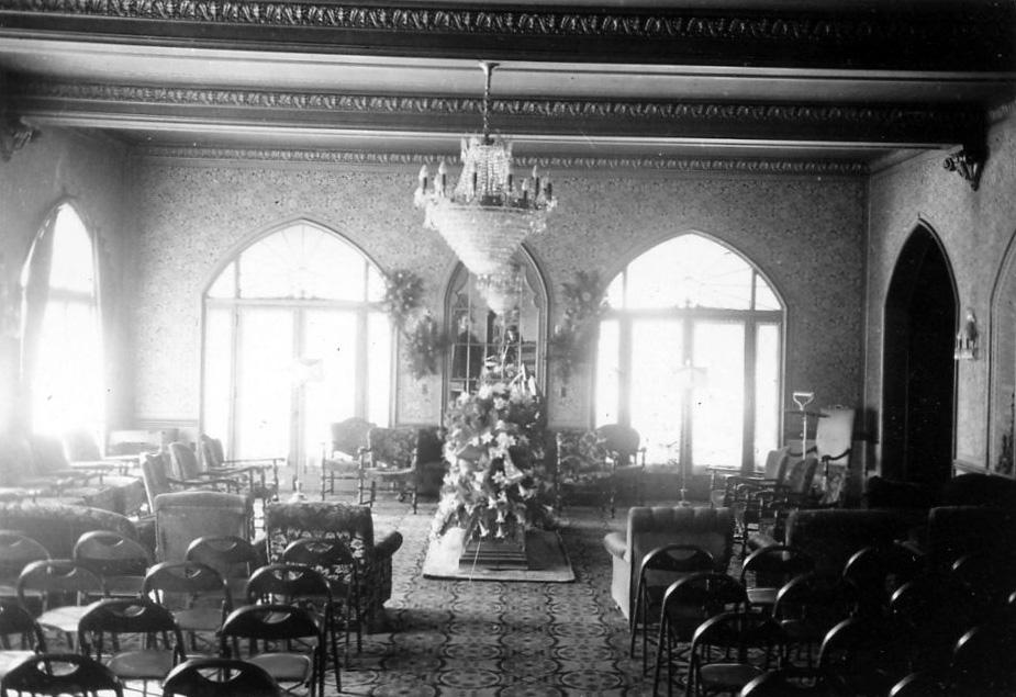 Rose Room - Masonic Funeral