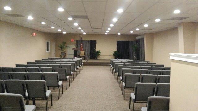 We Have a Huge Chapel!