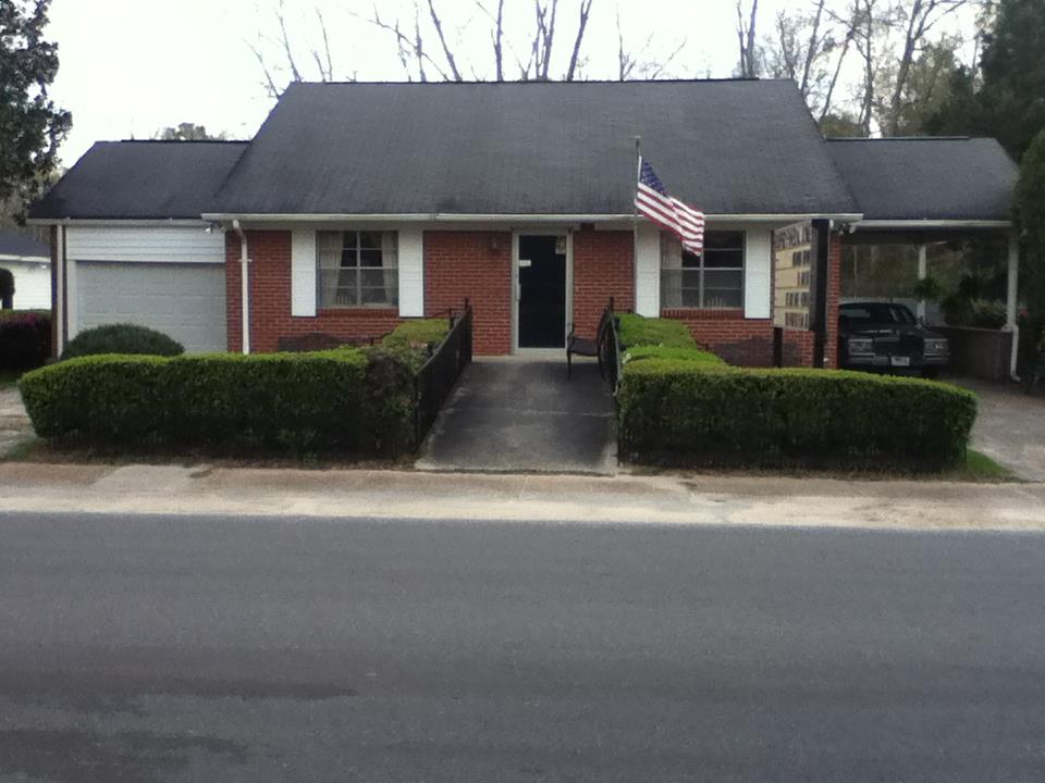 Front View of Cooper Funeral Home