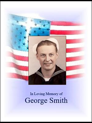 Veteran Cross on Flag w-photo