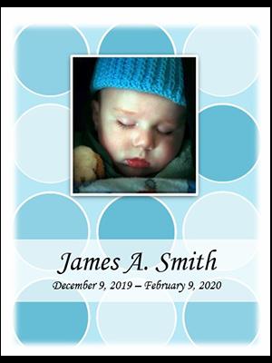 Baby Blue Mosaic w-photo