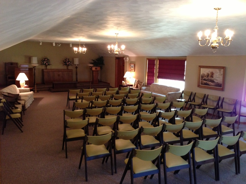 Our Newly Renovated Chapel