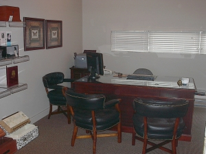 Updated office area to serve families better.
