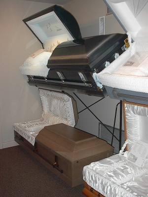 Casket Selection Room.