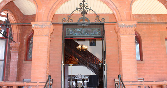 Grand Entrance to the Brockton Location