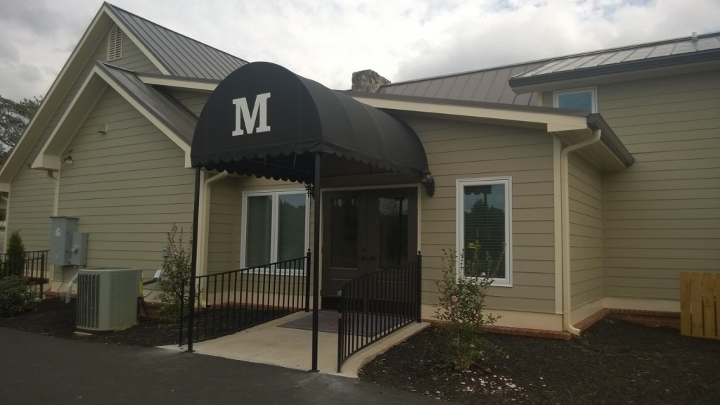 Main Entrance to Funeral Home
