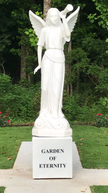 Gabriel in Garden of Eternity