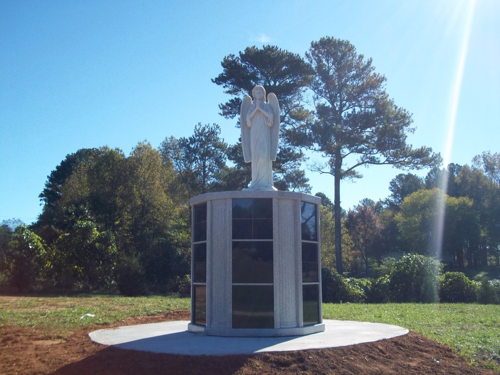 Angel Columbarium in the Garden of Resurrection