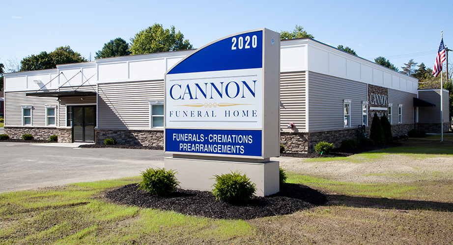 Cannon Funeral Home Exterior