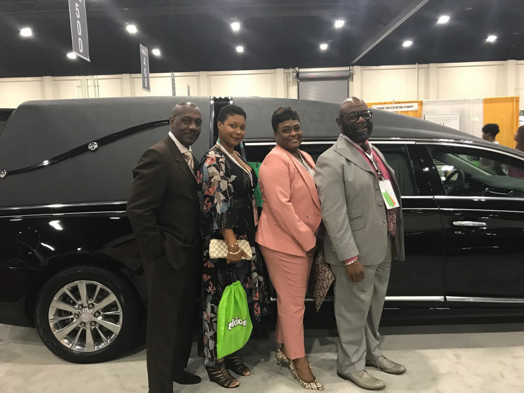 Eternal Rest Funeral Home - Gerald Weatherall and familystaff at NFDMA Convention 17