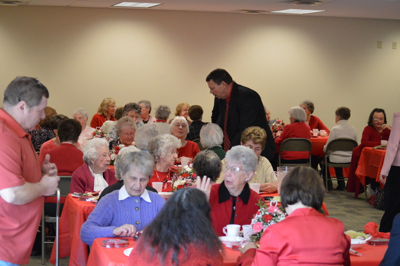 2014 widows valentine luncheon