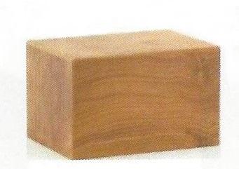 Natural Oak Veneer Urn