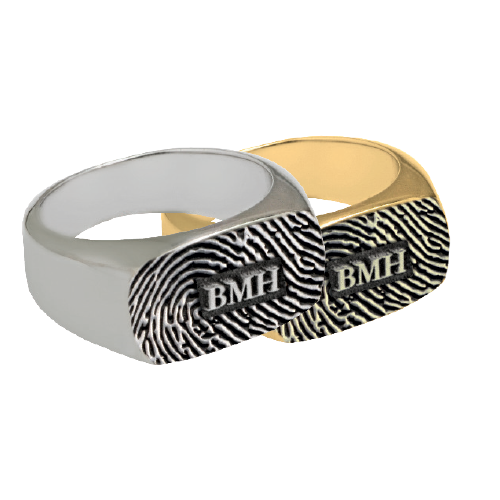 Personal Expressions Rectangle Ring