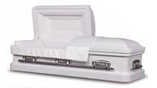 Ceremonial 18 gauge steel casket
