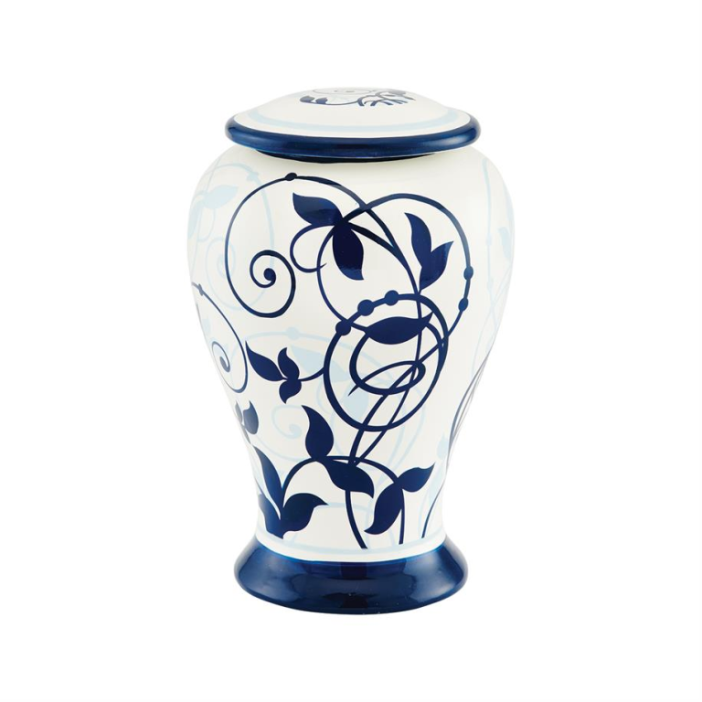 Arabesque Ceramic Urn