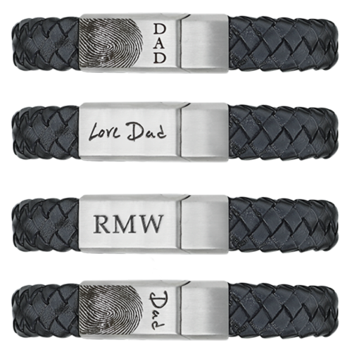 Personal Expressions Leather Bracelet