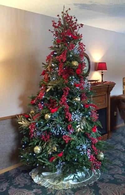 Christmas/Memorial Tree
