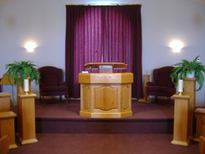 Pulpit Of Christies Funeral Home