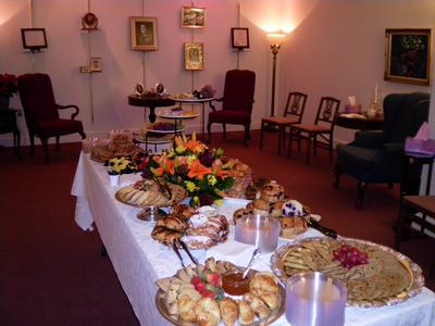 Receptions and catering availability