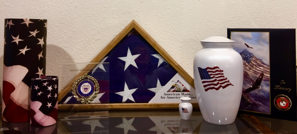 Military Themed Urns