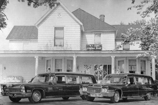 Cox Funeral Home Circa 1970