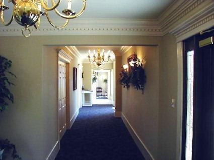 The lobby, and main hallway.