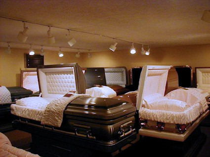 Hardwood Casket Selection