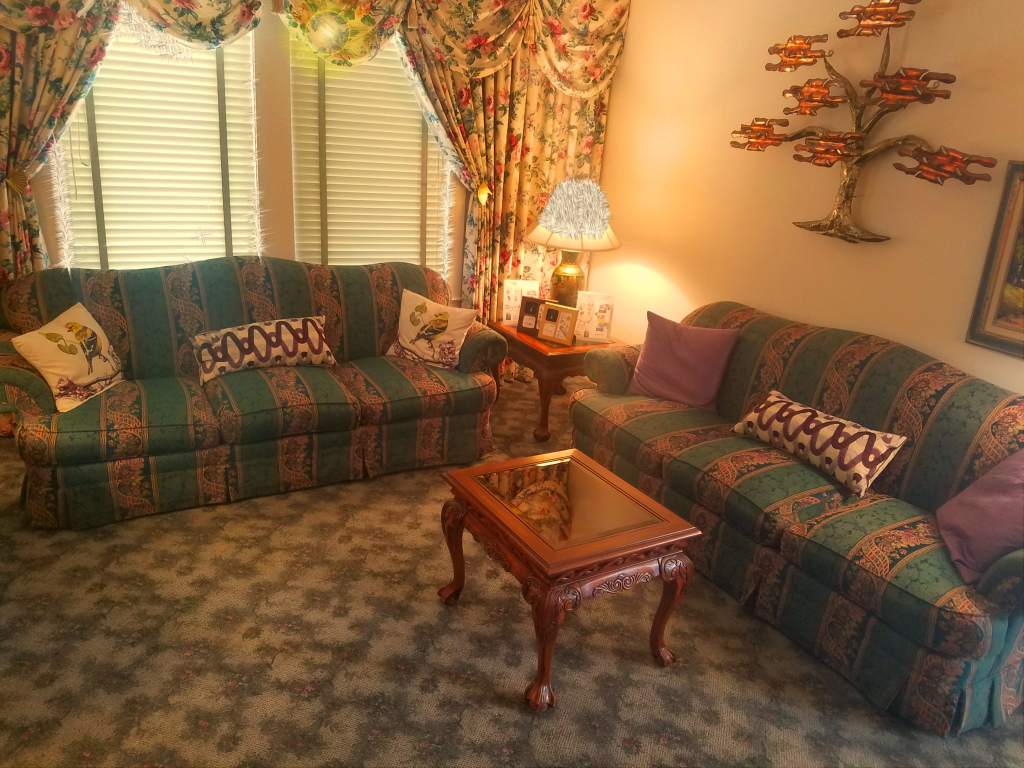 Our comfortable arrangement room