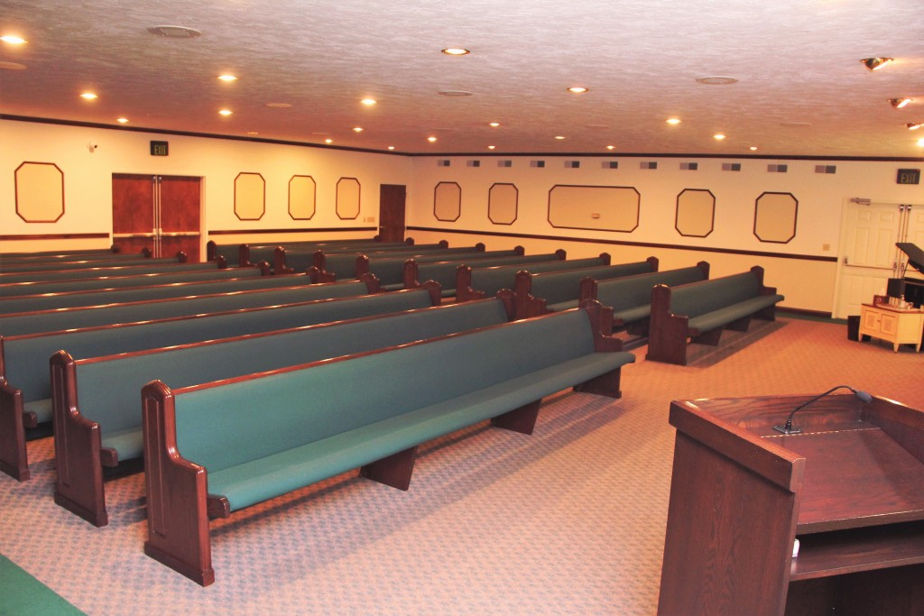 South Chapel Pews