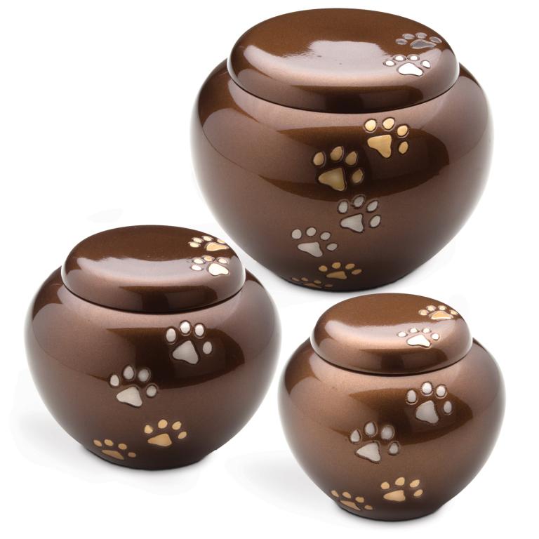 Bronze Cuddle Urns